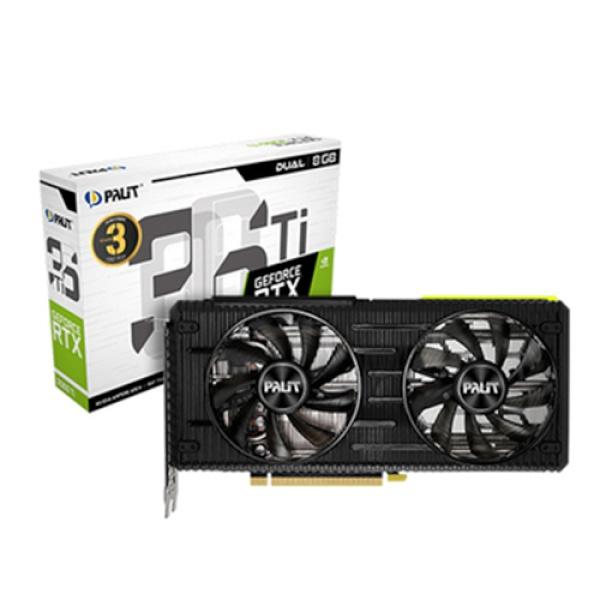 GeForce RTX 3060 TI DUAL  D6 8GB LHR