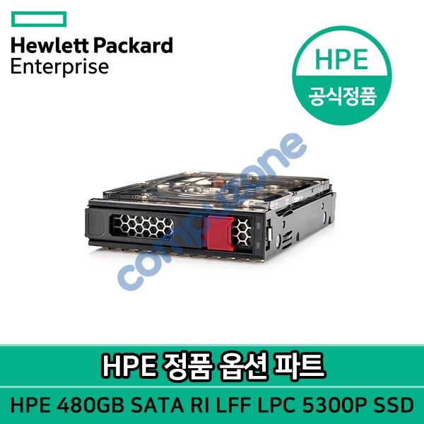 정품파트 LFF/LP/SSD 디스크 480GB SATA RI LFF LPC 5300P SSD (P19974-B21)