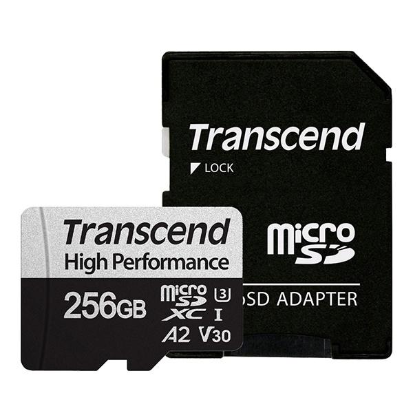 MicroSDXC I, UHS-I U3, V30, A2, 330S High Perfomance MicroSDXC 256GB