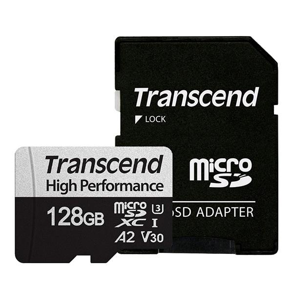 MicroSDXC I, UHS-I U3, V30, A2, 330S High Perfomance MicroSDXC 128GB