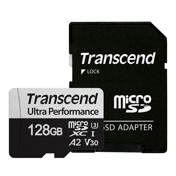 MicroSDXC I, UHS-I U3, V30, A2, 340S Ultra Perfomance MicroSDXC 128GB