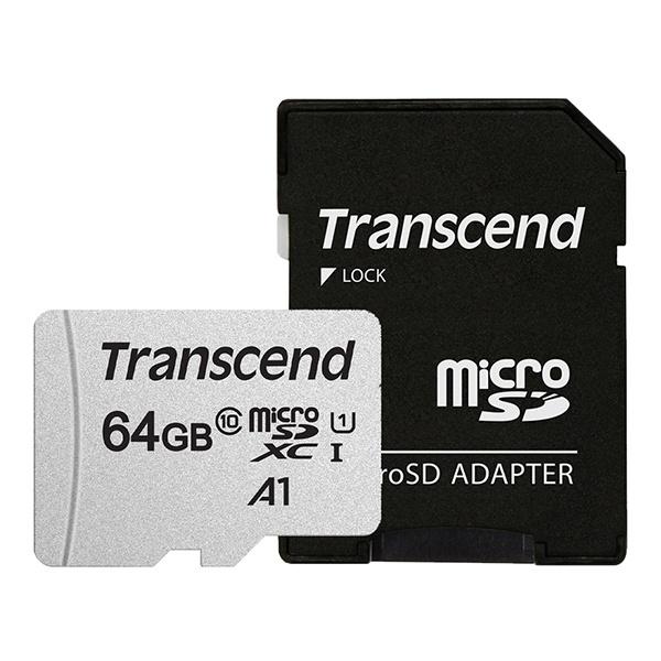 MicroSDXC I, class10, UHS-I, A1, 300S-A MicroSDXC 64GB