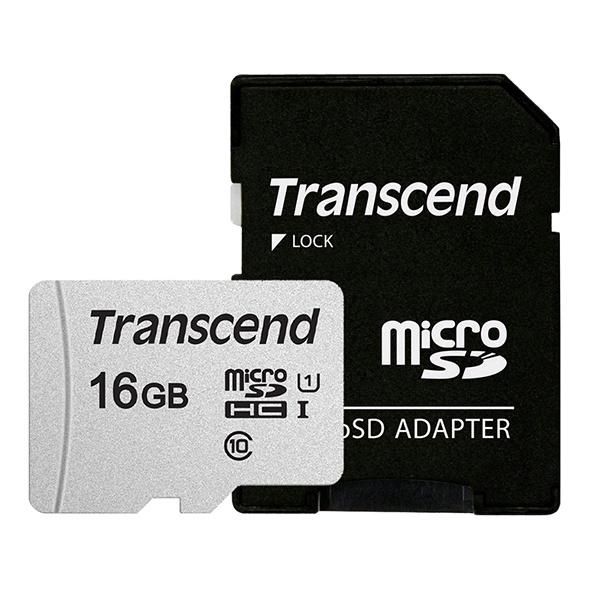 MicroSDHC I, class10, UHS-I, 300S-A MicroSDHC 16GB