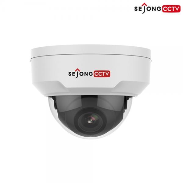 IP카메라, SJ-UD2N-EXP 실내형 돔 카메라 [200만 화소/고정렌즈 4mm] (UTP케이블 10M 무료증정)