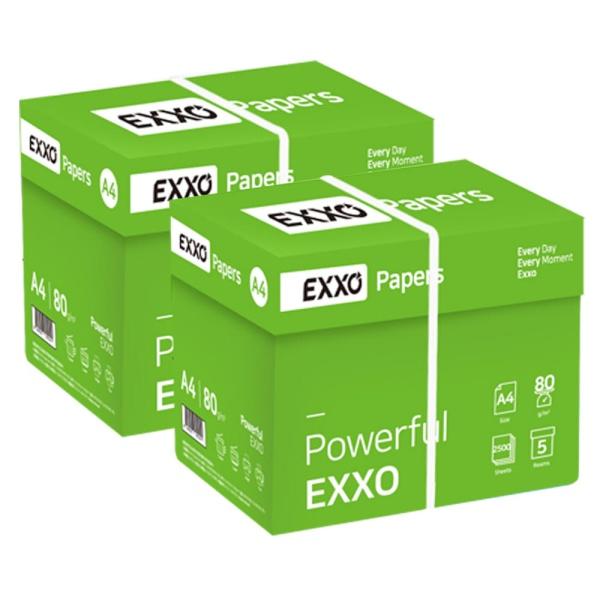 엑소(EXXO) A4 복사용지 80g 2Box (5000매) [무료배송]