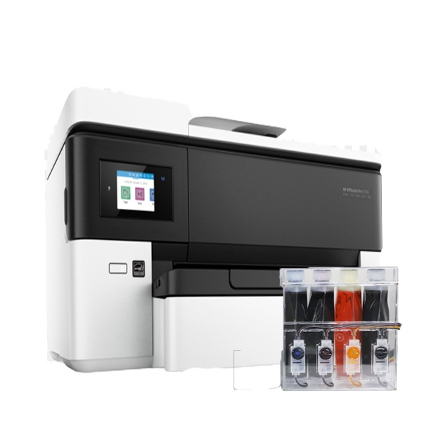 [HP(병행)] HP Officejet Pro 7720 무한잉크 복합기 (병행수입) + 아이팩 무칩 무한공급기 [2,000ml]