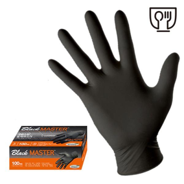 크린스킨 블랙마스터 1통 100매 니트릴장갑
