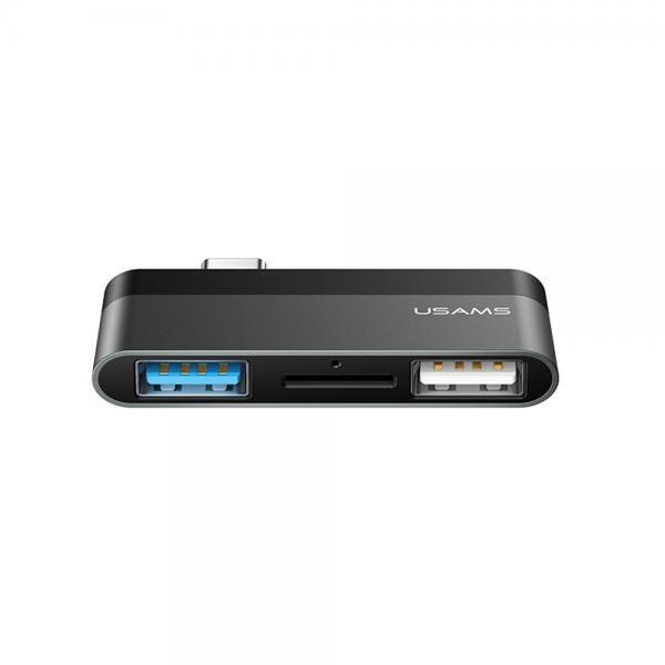유삼스 2USB (USB허브/2포트/카드리더기/무전원)