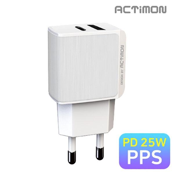 엑티몬 가정용 PPS 초고속 충전기 [옵션 선택] [PD25W/MON-TC1-PD25W]