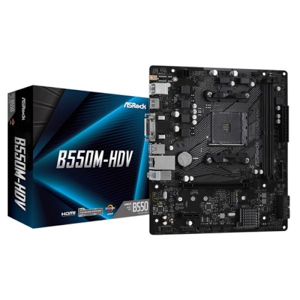 B550M-HDV 에즈윈 (AMD B550/M-ATX)