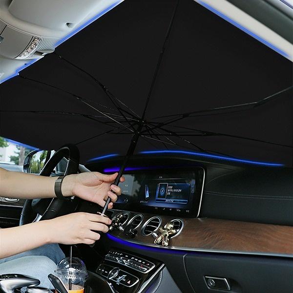 히키스 차량용 햇빛가리개 우산형