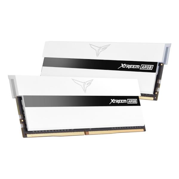 팀그룹 T-Force DDR4 32G PC4-25600 CL14 XTREEM ARGB 화이트 (16Gx2) 서린