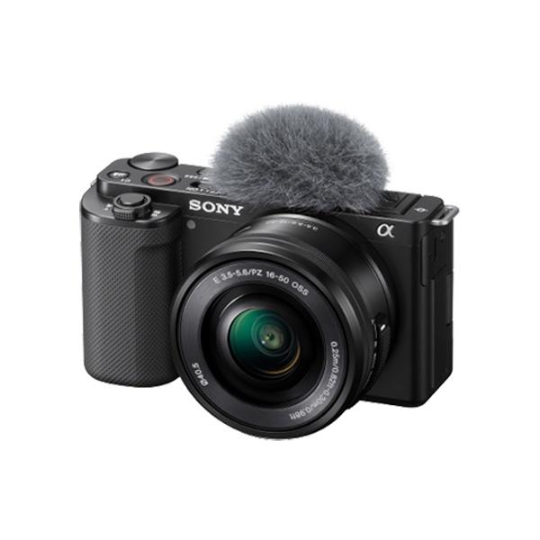 브이로그 카메라 ZV-E10L 렌즈KIT [본체+SELP1650 OSS 파워줌렌즈]
