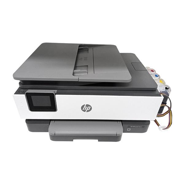 HP OfficeJet Pro 8020 무한잉크 복합기 (병행수입) + 무한공급기 1400ml