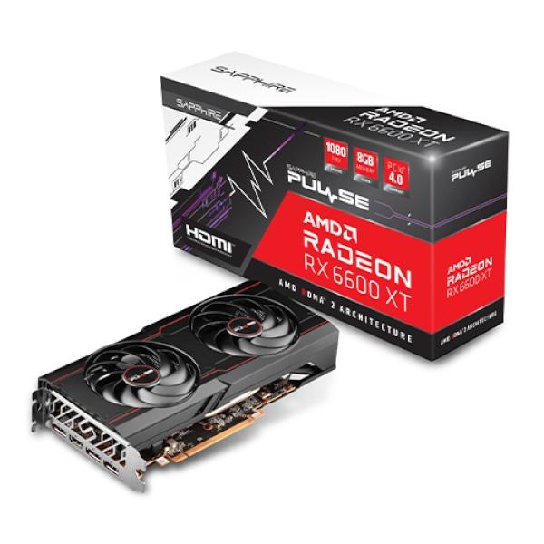 Radeon™ RX 6600 XT PULSE OC D6 8GB Dual-X