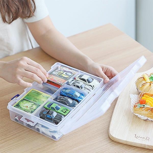 레고 장난감 낚시용품 네일파츠 소품정리함 [제품선택] 중형HSC10