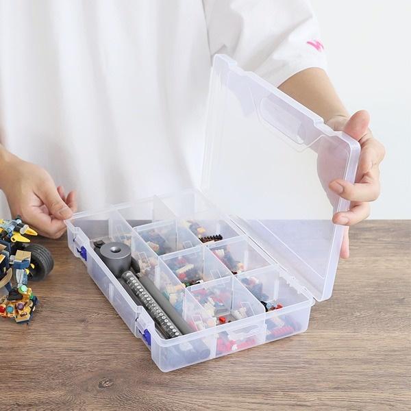 레고 장난감 낚시용품 네일파츠 소품정리함 [제품선택] 대형HSC20