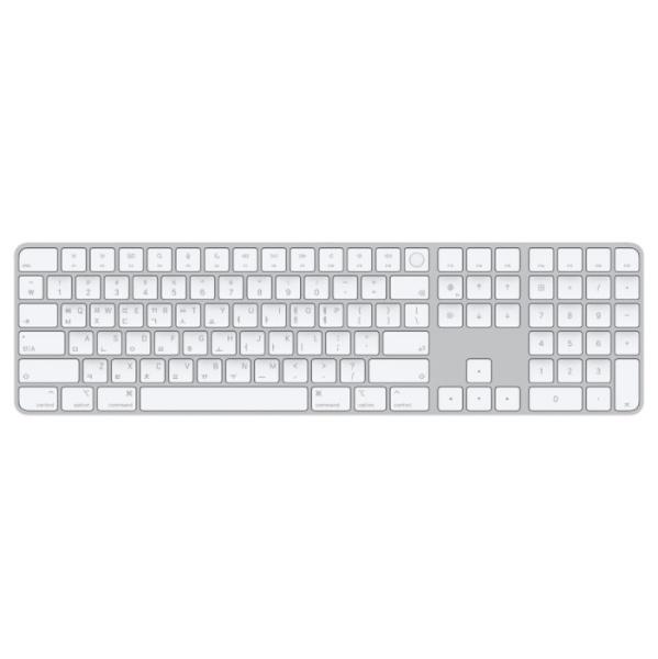 Apple Silicon이 장착된 Mac 모델용 Magic Keyboard(Touch ID 및 숫자 키패드 탑재) - 한국어 [MK2C3KH/A]
