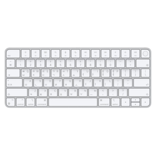 Apple Silicon이 장착된 Mac 모델용 Magic Keyboard(Touch ID 탑재) - 한국어 [MK293KH/A]