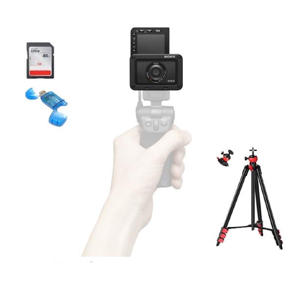 브이로그 4K 카메라 DSC-RX0M2+슈팅그립VCT-SGR1+128G+리더기+볼헤드삼각대 풀패키지