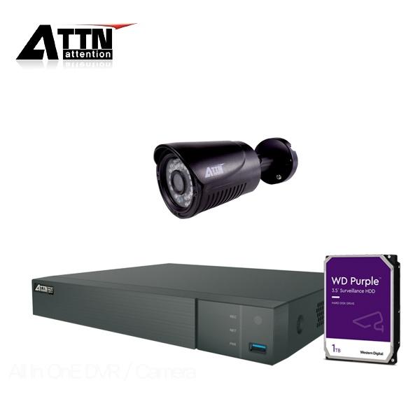 210만화소 CCTV 실내패키지, ATTN-DTF*1대 / XB(블랙)*1대 [1TB 하드 포함]