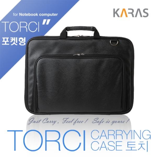 노트북 서류가방, TORCI KA-TC15 [15.6형/블랙]