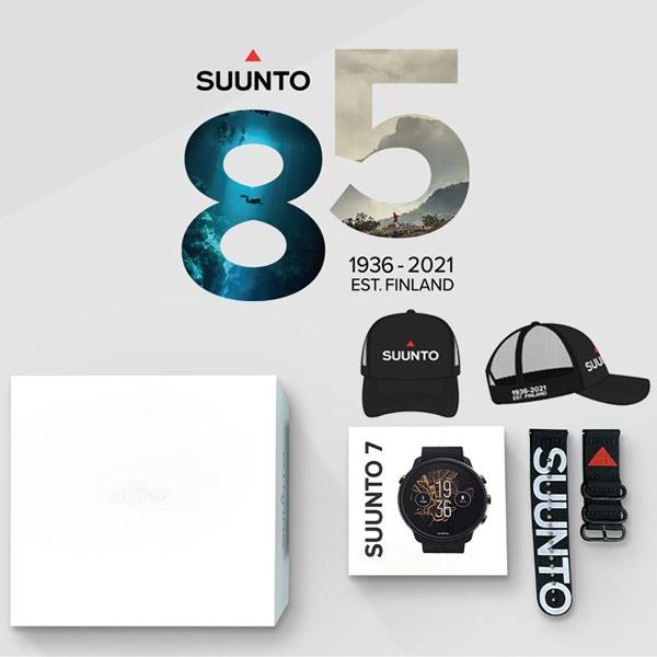 85주년 에디션 아머스포츠정품 SS050568000 순토7 매트블랙 티타늄