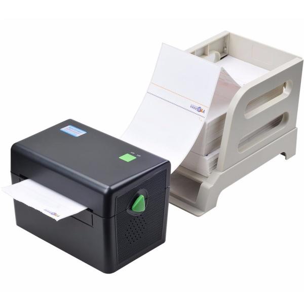XP-DT108B-KR 바코드 라벨 프린터 + 전용 외장거치대 합본 [블랙]