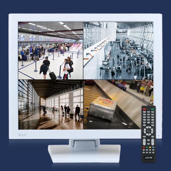 WELL 172LED CCTV A 600 화이트 [스탠드 A형ㅣ600cd/㎡]