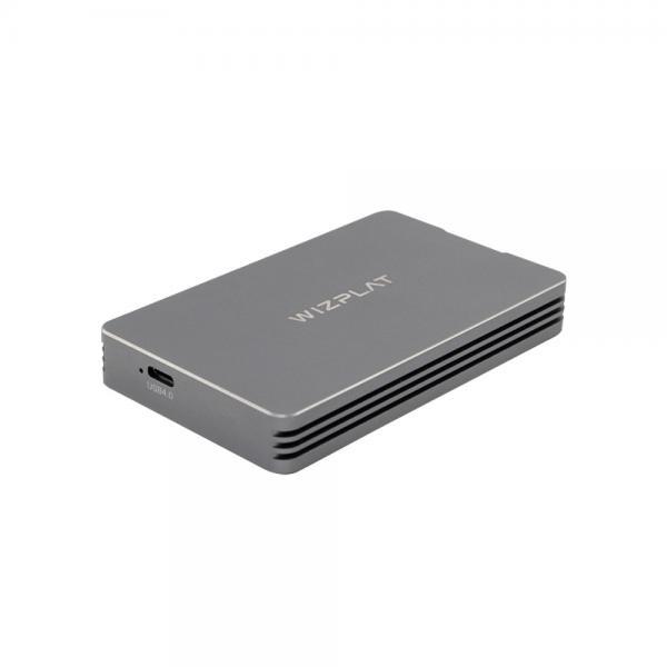 외장SSD케이스, FLEX DRIVE TUB4000P 포터블 SSD [M.2 NVMe SSD전용/USB4/T0hunderbolt4] [SSD 미포함]