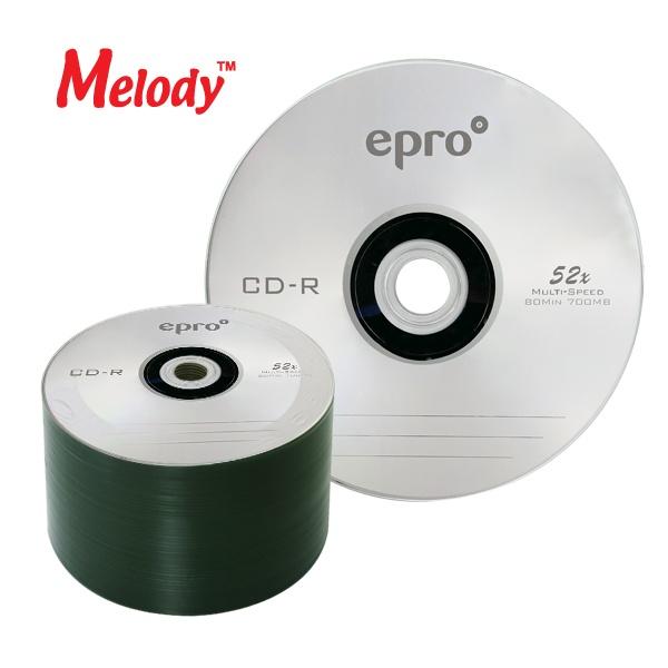 CD-R, 52배속, 700MB [멜로디 EPRO] [벌크/50매]