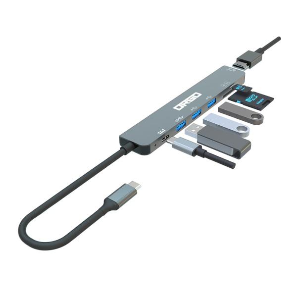 DRGO CH71 (USB C타입/7포트/멀티허브)