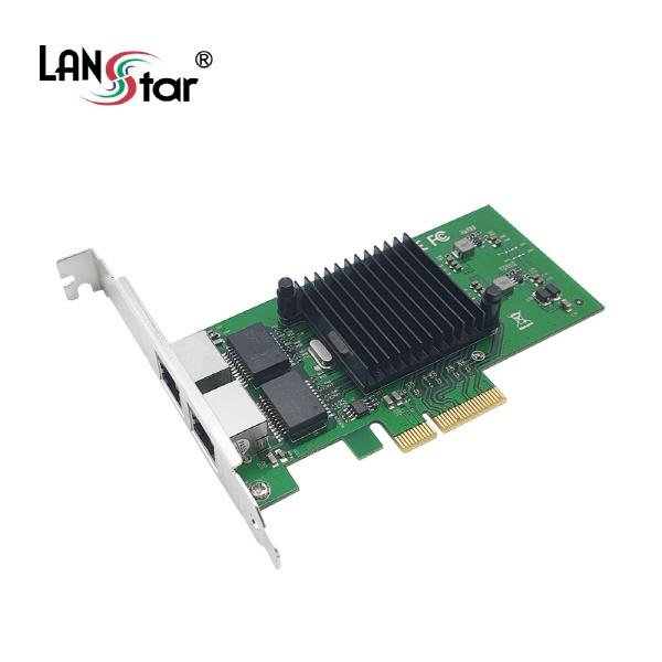 랜스타 LS-PCIE-EX2G (유선랜카드/PCI-E/1000Mbps)
