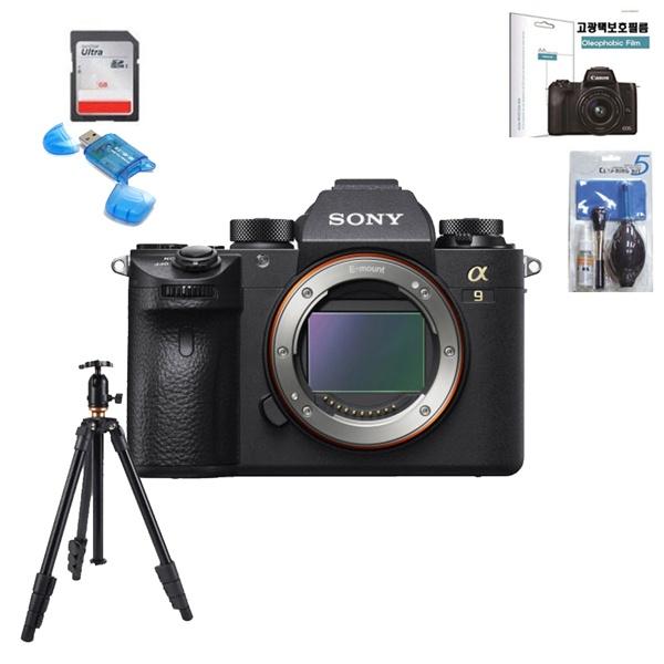 SONY 알파 A9 ILCE 9 ll BODY+256G(4k)+보호필름+크리닝킷+삼각대 풀패키지