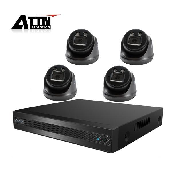 210만화소 CCTV 실내패키지, ATTN-DTF*1대 / XDB(블랙)*4대 [1TB 하드 포함]