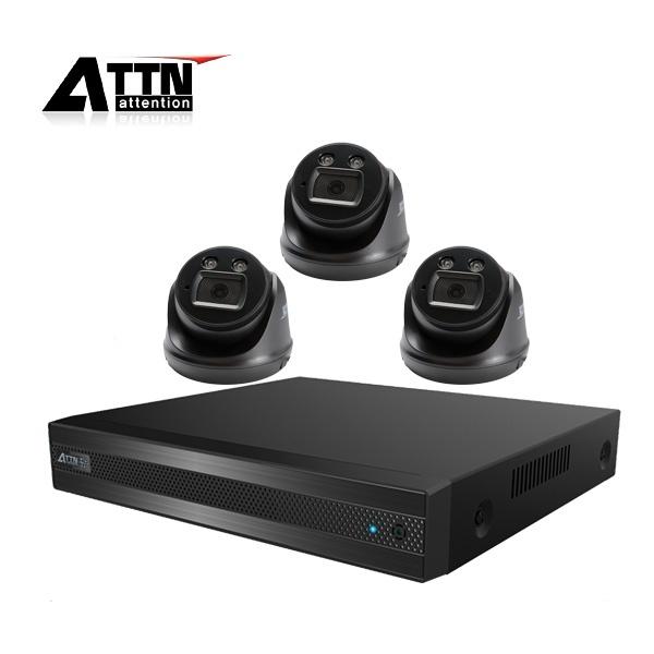 210만화소 CCTV 실내패키지, ATTN-DTF*1대 / XDB(블랙)*3대 [1TB 하드 포함]