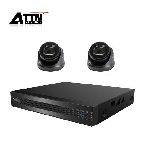 210만화소 CCTV 실내패키지, ATTN-DTF*1대 / XDB(블랙)*2대 [1TB 하드 포함]