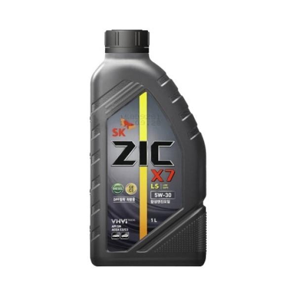 지크 ZIC X7 LS 5W-30 1L [엔진오일/가솔린/디젤/5W30/1L]