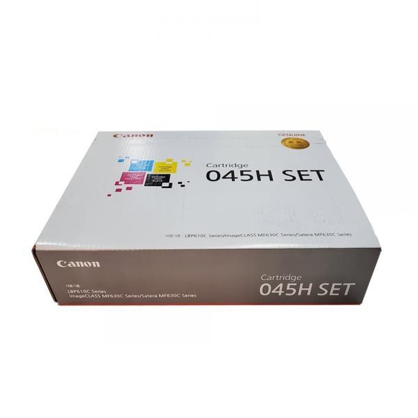 정품토너 CRG-045H SET (BK,C,M,Y) 4색세트