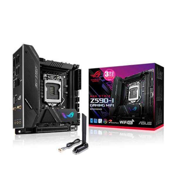 ROG STRIX Z590-I GAMING WIFI STCOM (인텔Z590/M-ITX)