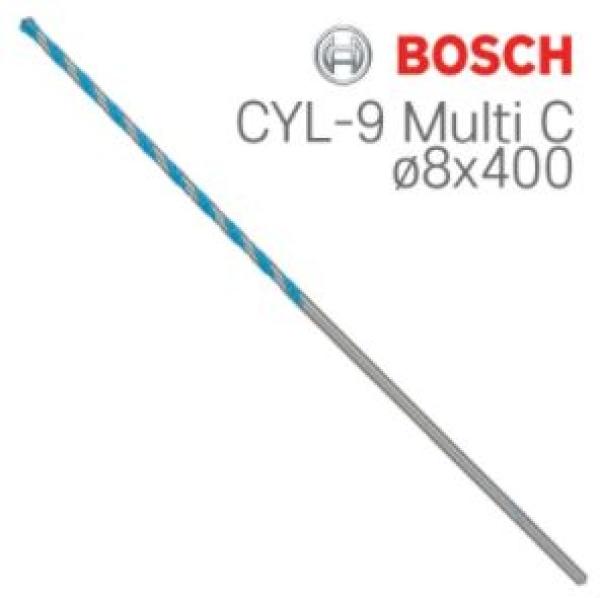 보쉬 CYL-9 Multi C  멀티 컨스트럭션 드릴비트 1개입 [제품선택] 8x400 (2608595361)