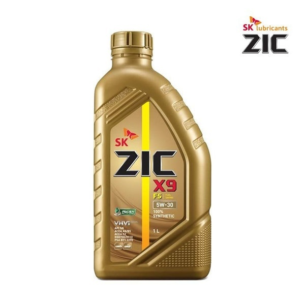 지크 ZIC X9 FS 5W-30 1L [엔진오일/전체엔진/5W30/1L]