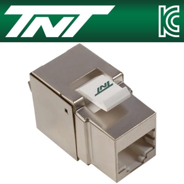 TNT NM-TNT75 CAT.5E STP 스냅인 키스톤잭 모듈(90°)