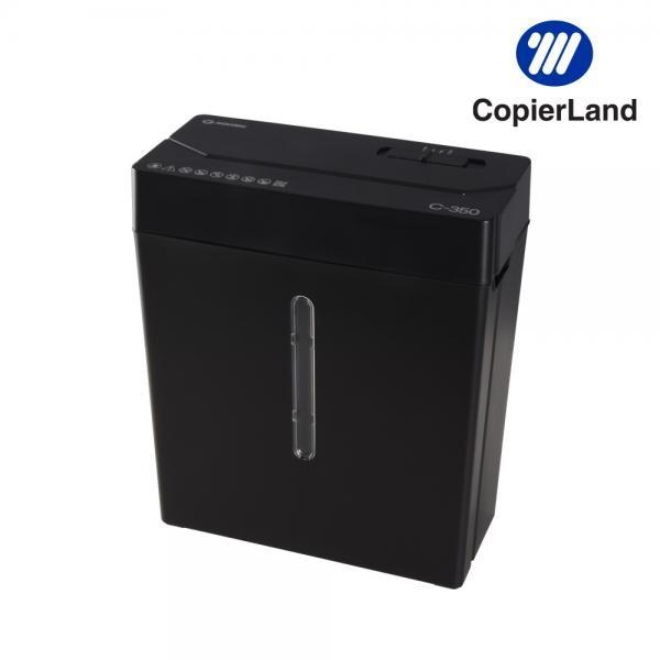 문서세단기 C350 [소형/11L/최대5매] [블랙]