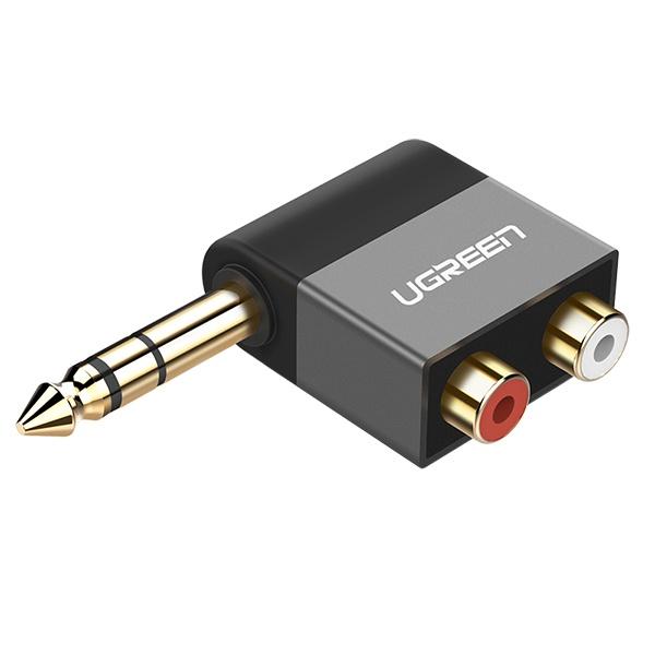 Ugreen U-40846 5.5M/2RCA(F) Y형 젠더