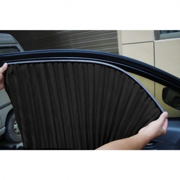 [GTS37898] 자석 카커튼 차량용 햇빛가리개 4p세트(블랙)