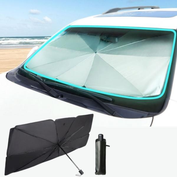 차량용 햇빛가리개 우산형 [사이즈 선택] [GTS37899] (140x79cm)