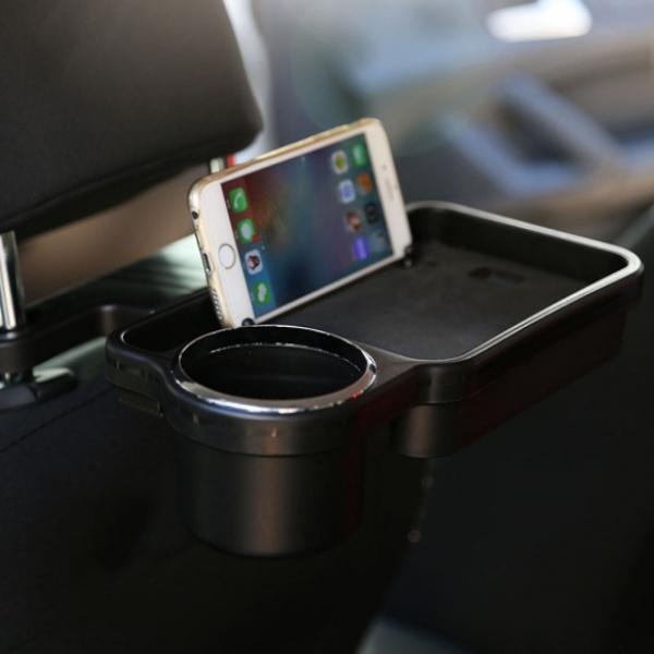 [GTS78599] 차량용 뒷좌석 컵홀더 폴딩테이블