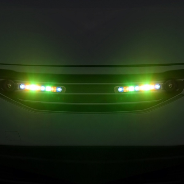 [GTS41647] 바람개비 풍력 LED 라이트 2p세트(컬러믹스)