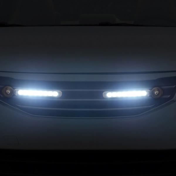[GTS41646] 바람개비 풍력 LED 라이트 2p세트(백색)